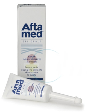 Aftamed Gel Parodontale Lenitivo Calmante Anti-Irritazioni 15 ml