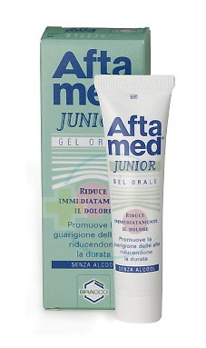 Aftamed Junior Gel Parodontale Lenitivo Calmante Anti-Irritazioni 15 ml